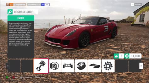 The mosler with full downforce will go 272 mph. how to do best tuning setup for Ferrari 599xx || Forza Horizon 4 - YouTube