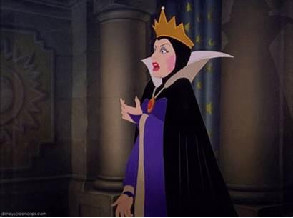 Queen Evil Snow Disney Gifs Villains Beauty