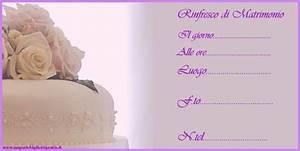 Biglietti Di Invito Per Rinfresco Matrimonio Con Torta