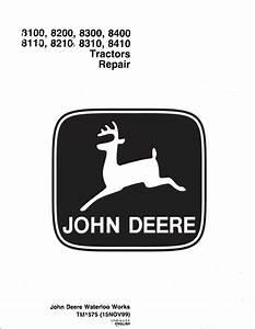 John Deere Tractors Repair Tm1575 Technical Manual Pdf