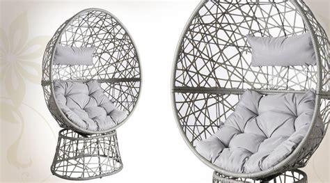 siege en oeuf fauteuil oeuf pivotant contemporain avec coussins d 39 assise
