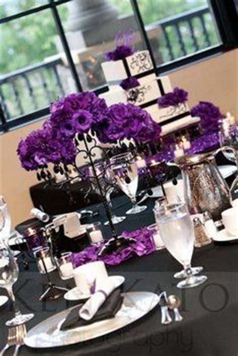 ideas  purple black wedding  pinterest