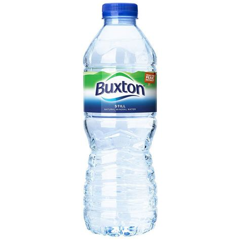 buxton still mineral water pet bottle 500 ml pack of 24
