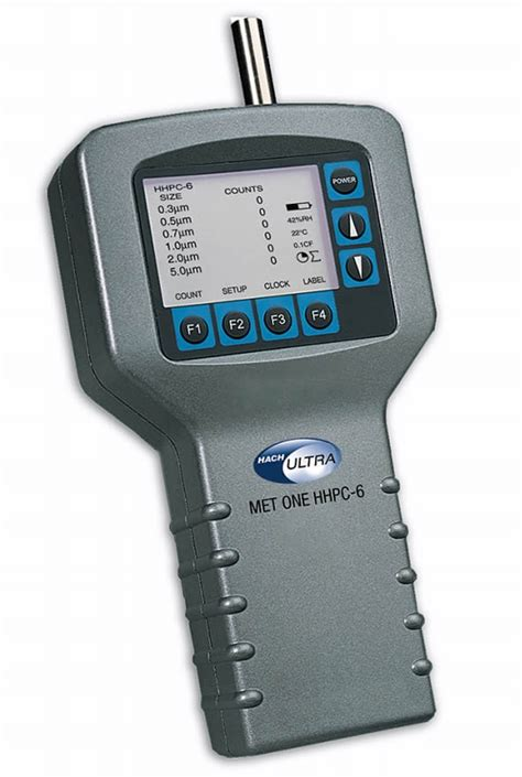 Using MET ONE HHPC 6+ Particle Counter for Classification ...