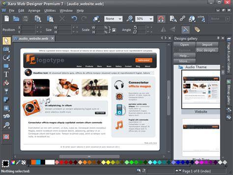 xara web designer xara web designer premium 9 0 1 27404 free software