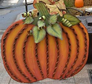 Large, Metal, Pumpkin