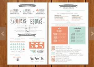 wedding program infographic With wedding invitation infographic template