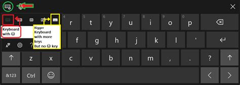 No Emoji Button On Touch Keyboard In Windows 10