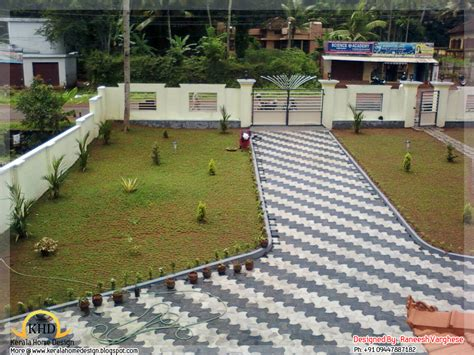 landscaping design ideas kerala home design and floor plans