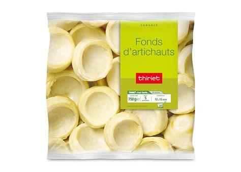 cuisiner fond d artichaut fonds d 39 artichauts surgelé gamme pommes de terre
