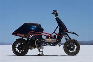 The Vespa Desert Racer