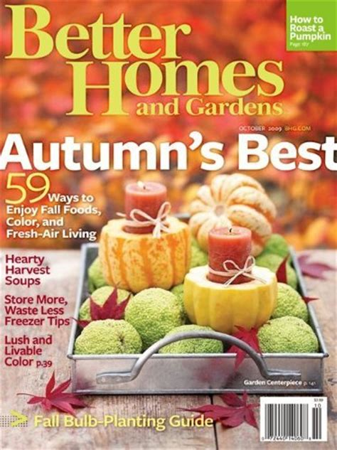 deal on better homes and gardens magazine