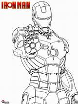 Iron Coloring Disegni Colorare Ironman Mano Printable Disegno Avengers Palmo Sparare Della Sheet Cartoon Desenhos Pronto Marvel Mark Superhero Homem sketch template