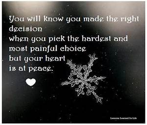 Hard Decision Quotes. QuotesGram