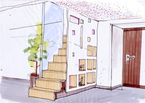 escalier rangement sur mesure