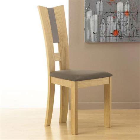 chaise en bois massif chaise contemporaine bois massif coin fr com