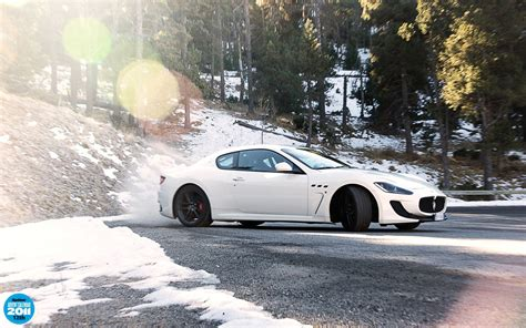 maserati snow snow trees forests top gear maserati drifting cars roads