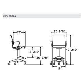 Herman Miller Setu Chair Dimensions by Herman Miller Setu Stool Slate Grey Office Chairs Uk