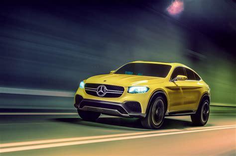 Official Images Mercedes Benz Glc Coup Study Motoroids