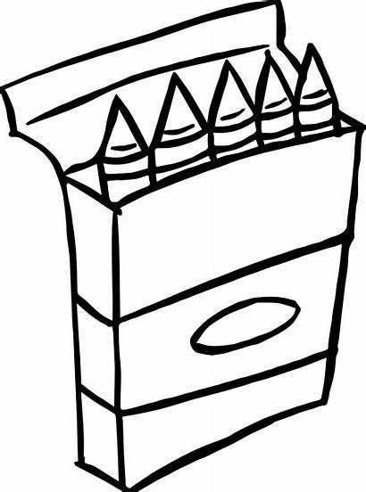 Crayons Clipart Crayon Coloring Clipartmag