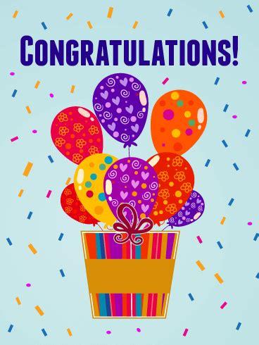 congratulations card birthday greeting