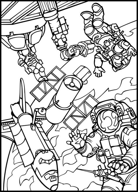 outer space coloring page space pinterest