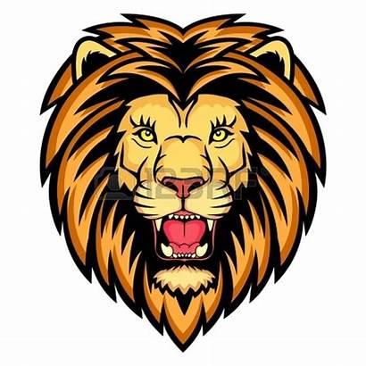 Lion Head Clip Silhouette Clipart Lions Roaring