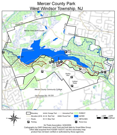 Mercer County Parknew Jersey Trails Association