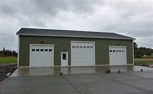 1000 images about garages on pinterest garage flooring With 50x50 pole barn
