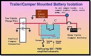Travel Trailer Battery Wiring Diagram
