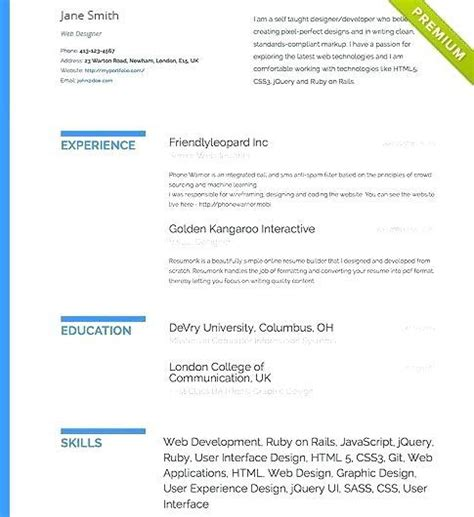 Build Resume For Free by 39 Cool Build My Resume For Free By Gallery