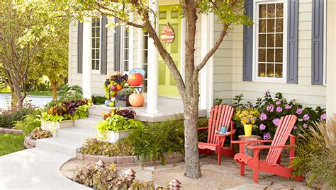 Rock Garden Patio Ideas by Easy Front Door Updates