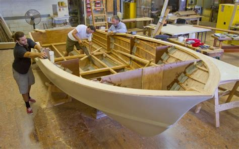 Yacht And Boat Building Courses by Building Wooden Pontoons Fibreglass Boat Building Courses