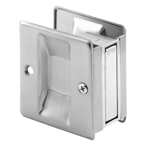 pocket door pull prime line satin nickel pocket door pull handle n 7238