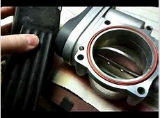 bmw m54 throttle body test YouTube