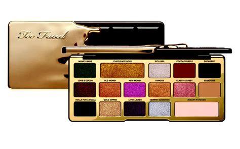faced chocolate gold makeup collection  holiday  news beautyalmanac