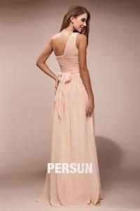 Robe Rose Pale Demoiselle D Honneur : robe demoiselle d 39 honneur asym trique ceintur e noeud papillon ~ Preciouscoupons.com Idées de Décoration