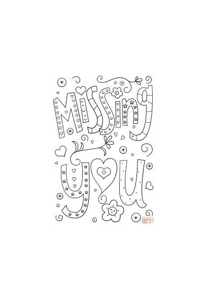 Coloring Missing Pages Doodle Printable Miss Colouring