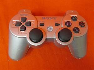 Sony Brand Dualshock 3 Wireless Controller Satin Silver For