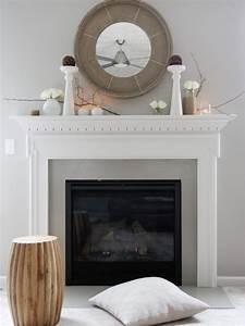 Runder Spiegel Holz : die besten 25 dekorativer kamin ideen auf pinterest kaminsims aus holz kaminumrandung und ~ Indierocktalk.com Haus und Dekorationen
