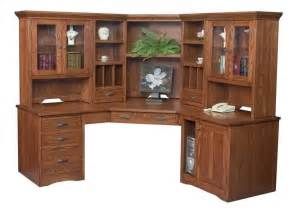 furniture large corner computer desk with hutch corner