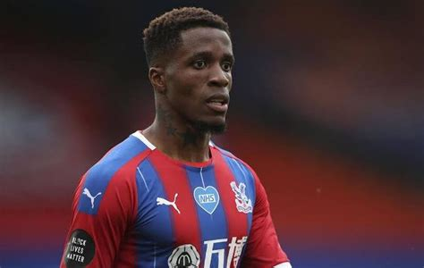 Wilfried Zaha subjected to racist online abuse ahead of ...