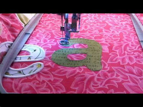 machine embroidery applique youtube