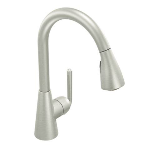 moen touch kitchen faucet moen s71708csl ascent one handle high arc pulldown kitchen