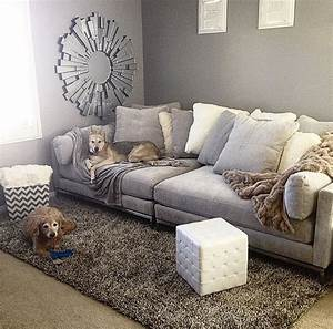 comfortable couch deep sofa bellissimainteriors With big comfy throw pillows