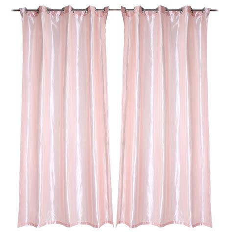 light pink blackout curtains thermal blackout eyelet