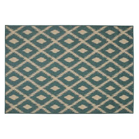 tapis d extérieur en polypropylène tapis d ext 233 rieur en polypropyl 232 ne vert 160 x 230 cm seaside maisons du monde