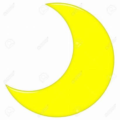 Moon Half Clipart Crescent Transparent Cartoon Drawing