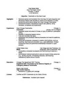 emt resume cover letter 10 emt resume cover letter writing resume sle writing resume sle