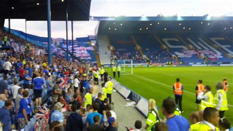 Glasgow Rangers & Sheffield Wednesday fans tribute to Lee ...